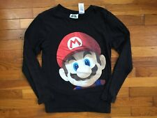 Super Mario 64 T-Shirt youth boy's XL nintendo 64 n64 l/s 3d gamer kids 3a977