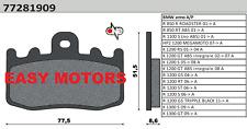 COPPIA PASTIGLIE FRENO ANTERIORE BMW R 1200 GS TRIPPLE BLACK 11->