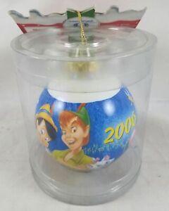Disney Store Peter Pan Pinocchio Princess 2006 Christmas Holiday Tree Ornament