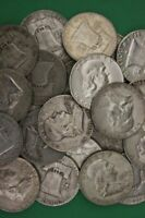 90% Silver Franklin Half Dollars (1948-1963) - Choose How Many