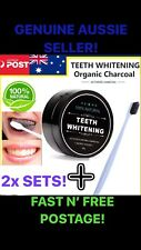 Carbon Coco Activated Charcoal Teeth Tooth Whitening 100% Organic Coconut Powder