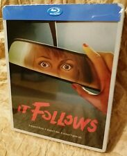 IT FOLLOWS Blu-Ray U.S. STEELBOOK Region A