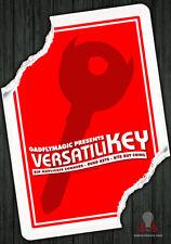 VersatiliKEY by Gadflymagic, Card-Coin-Key Magic, 2 Stück, Neu!!