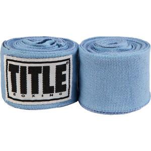 """Title Boxing 180"""" Semi Elastic Mexican Handwraps"""