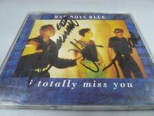 Bad Boys Blue – I Totally Miss You - 4 REMIXES 1992 ORIGINAL SIGNATURE MAXI-CD!