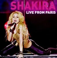 "SHAKIRA ""LIVE FROM PARIS"" CD+DVD NEU"