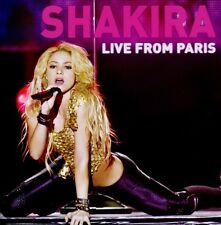 "SHAKIRA ""LIVE FROM PARIS"" CD+DVD NEU"