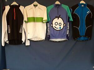 Joblot 4 x  Cycling Jersey tops Shirts bike wear LARGE  Adults top#A30