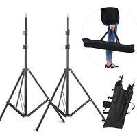 2pcs Light Stand tripod Kit For Flash Photo Studio Lighting Umbrella Softbox