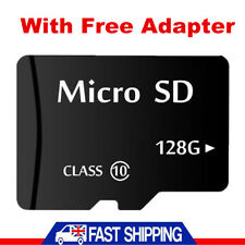 128GB Class10 Micro SD Card SDHC + Adapte For Phones Tablets Camera Sat Nav 128G