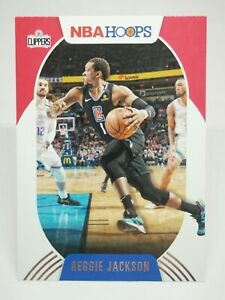 Panini Hoops 2020-21 N28 card NBA base #21 Reggie Jackson Los Angeles Clippers