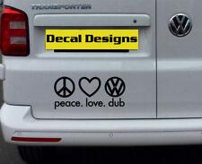 VW  VINYL DECAL STICKER VOLKSWAGEN T25 T4 T5 T6 CAMPER GOLF PASSAT BEETLE