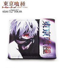 NEW Japanese Toyko Ghoul Ken Kaneki Masked Anime PU Tri Fold Wallet