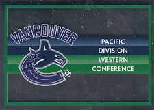 16/17 PANINI NHL STICKER TEAM LOGO #415 VANCOUVER CANUCKS *24613