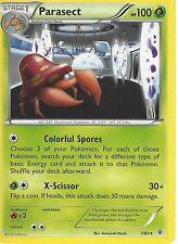 POKEMON XY GENERATIONS RARE CARD - PARASECT 7/83