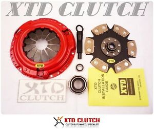 XTD® STAGE 4 CLUTCH KIT FITS FOR 2001-2006 HYUNDAI ACCENT 1.6L