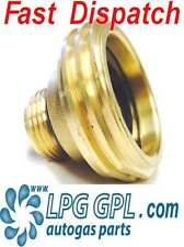 LPG GPL filling point adapter UK to EUROPE Liechtenstein Propane Autogas Adaptor