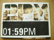 2PM First Album 1:59PM Signed Autographed PROMO CD KPOP JYP