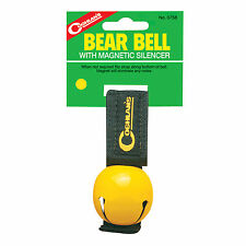 Coghlans 0758, Bear Bell with Magnetic Silencer - Yellow
