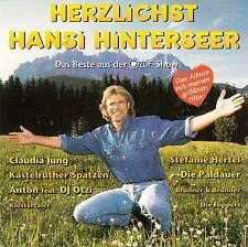 HANSI HINTERSEER : HERZLICHST HANSI HINTERSEER / 2 CD-SET - TOP-ZUSTAND