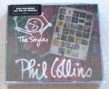 PHIL COLLINS The Singles Deluxe Edition 3 CD Fat Box SOUTH AFRICA Cat# CDESP 462