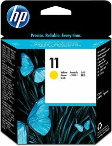 GENUINE & BOXED 2013 DATE HP11 YELLOW / C4813A PRINTHEAD - SWIFTLY POSTED
