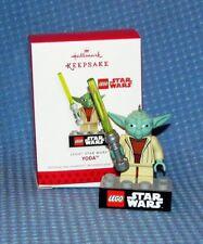 NIB 2013 Hallmark Keepsake Ornament - Lego Star Wars Yoda