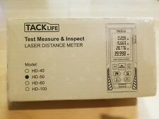 New Tacklife Hd50 Classic Laser Measure 164ft Minft Mute Laser Distance Meter