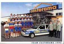 Team CASTORAMA 94 Cycling cyclisme Bourguignon Thierry Madouas Gaumont Philippe