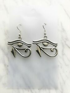 Eye of Ra Horus Earrings Egyptian God