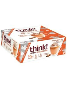2 Pack-think!150 Calorie Bars pumpkin Spice Limited Edition-14.1 Oz Each