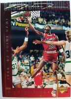 1994 94 Upper Deck Basketball Heroes Michael Jordan #38, Gold Signature, Sharp!
