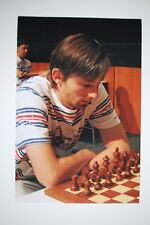 Gm Alexander grischtschuk signed foto autógrafo Autograph ip2 Grandmaster Chess