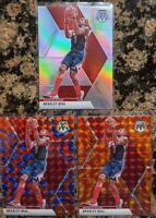 3x LOT Bradley Beal 🔥 2019-20 Mosaic Prizm 132 True SILVER Orange Blue Reactive