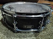 TAMA 1982 SNARE DRUM...RECYCLED...ORIGINAL BADGE...FRESH EDGES & BEDS