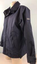 Gant Navigator Sailing Equipment Jacket Zip Navy Blue Nylon Small Bomber USA