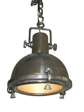 Génial plafonnier Suzanne INDUSTRIE Rond USINE ARGENT NICKEL GRIS lampe