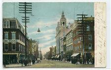 Queen Street Lancaster Pennsylvania 1907 postcard