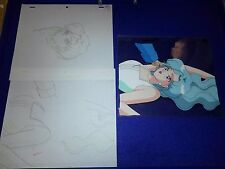 Sailor Moon Anime Production Cel Fish Eye Fisheye #12 Do I Look Like A Fairy?