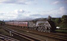 K.R.PHOTOGRAPHICS 35mm RAILWAY SLIDE: KRE 120: CLASS A4: 60027 MERLIN