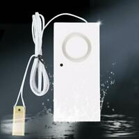 Water Leak Alarm Flood Level Overflow Detector Sensor Home Security Alert 120db