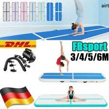 FBsport 3M 4M 5M 6M Air Track Gymnastikmatte Turnmatte Tumbling Matte Yogamatte