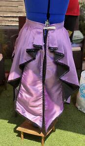 Victorian Style Overskirt Bustle Size 10/12