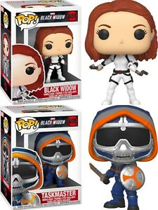 Funko Pop! Black Widow Vinlys figure 604 Black Widow 605 Taskmaster