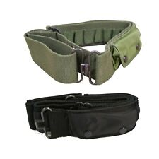 Army Belt Military Combat Tactical Style Ammo Pouch Hunting Cartridge Holster