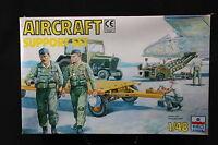 YD014 ESCI 1/48 maquette figurine 4088 Aircraft Support set technicien piste