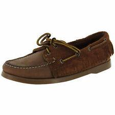 Women's Suede Boat Shoes