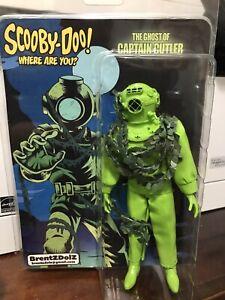 "Captain Cutler of Scooby Doo Villian Retro Repro 8"" Figure BrentzDolz"