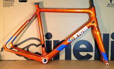 Cinelli Veltrix Columbus Carbon Road Bike Frameset Size Medium  Orange