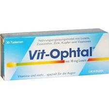VIT OPHTAL mit 10 mg Lutein Tabletten 30 St